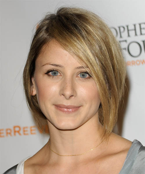 Lauren Bosworth Medium Straight Casual Hairstyle