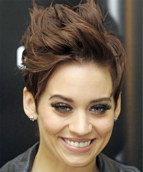 Kimberly Wyatt Short Straight Hairstyle