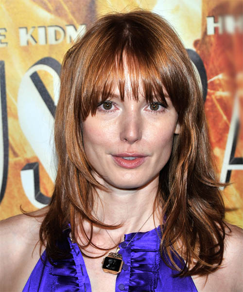 Alicia Witt Long Straight Casual Hairstyle