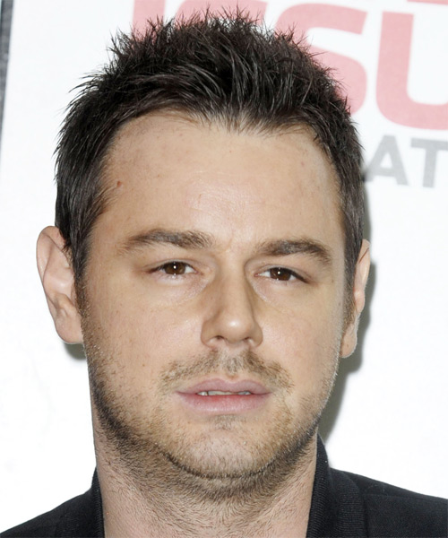 Danny Dyer Short Straight Casual Hairstyle