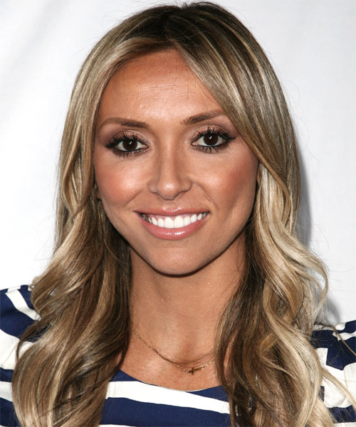 Giuliana DePandi-Rancic - Casual Long Wavy Hairstyle