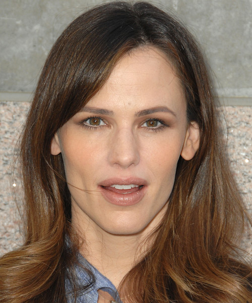 Jennifer Garner Long Straight Hairstyle