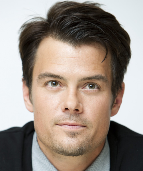 Josh Duhamel Short Straight Formal Hairstyle (Ash)
