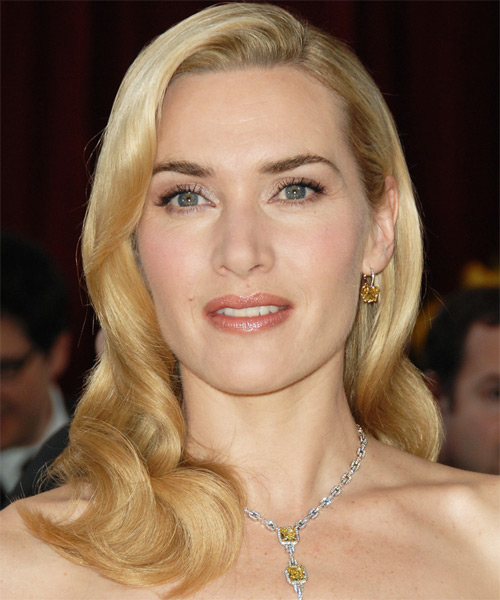 kate winslet hairstyle. Kate Winslet stunned onlookers