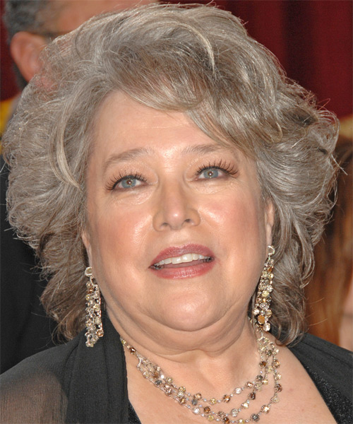 Kathy Bates Short Wavy Formal Hairstyle