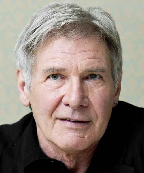 Harrison Ford Short Straight Hairstyle