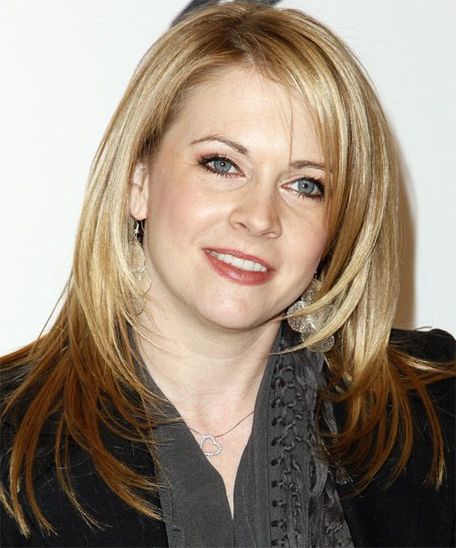 Melissa Joan Hart - Casual Long Straight Hairstyle