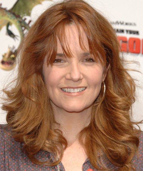 Lea Thompson - Casual Long Wavy Hairstyle