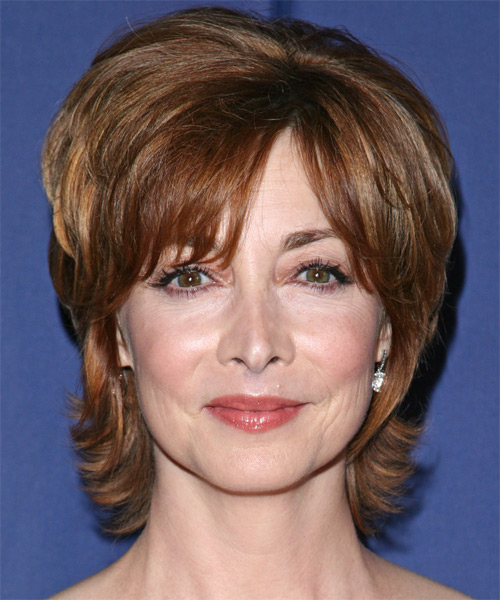 Sharon Lawrence Short Straight Formal Hairstyle