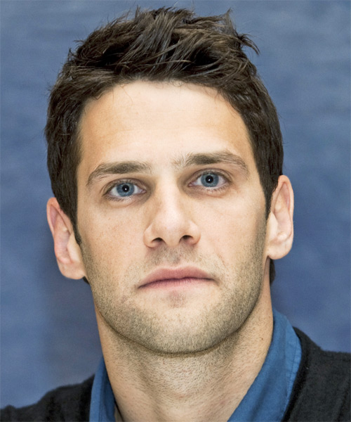 Justin Bartha - Straight  Short Straight Hairstyle