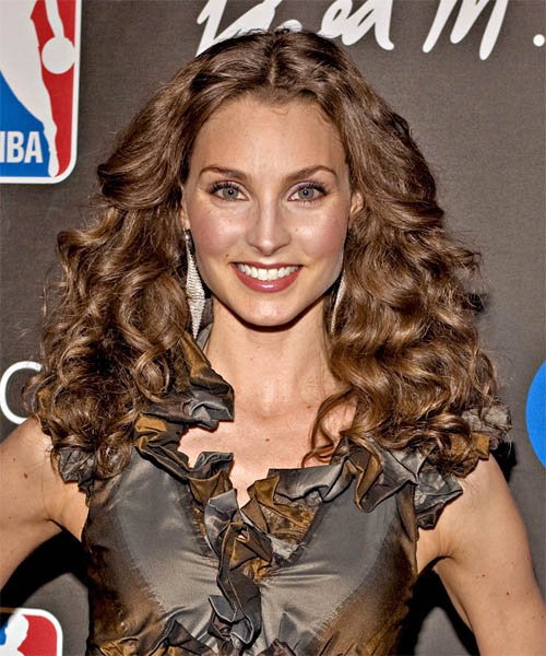 Alicia Minshew - Casual Long Curly Hairstyle