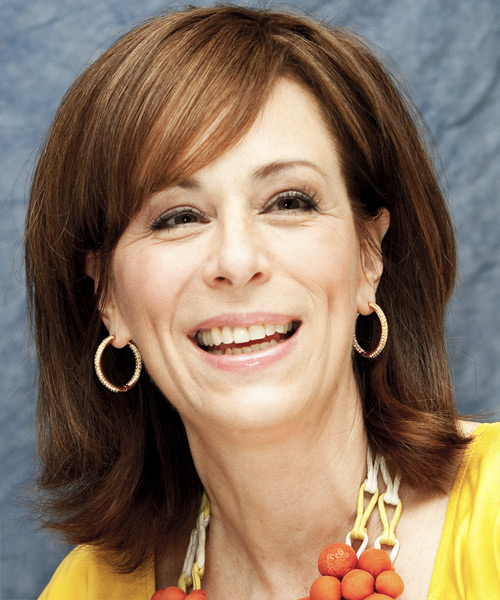 Jane Kaczmarek Medium Straight Hairstyle