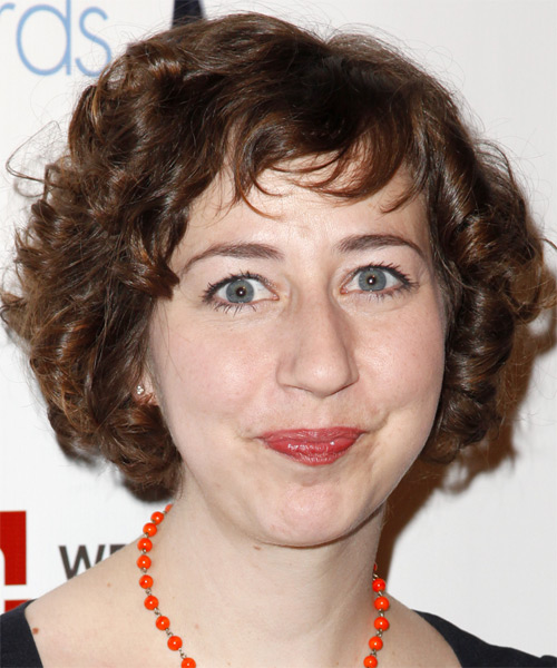 Kristen Schaal Short Curly Hairstyle