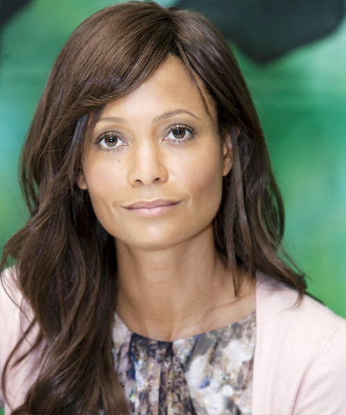 Thandie Newton Long Wavy Hairstyle