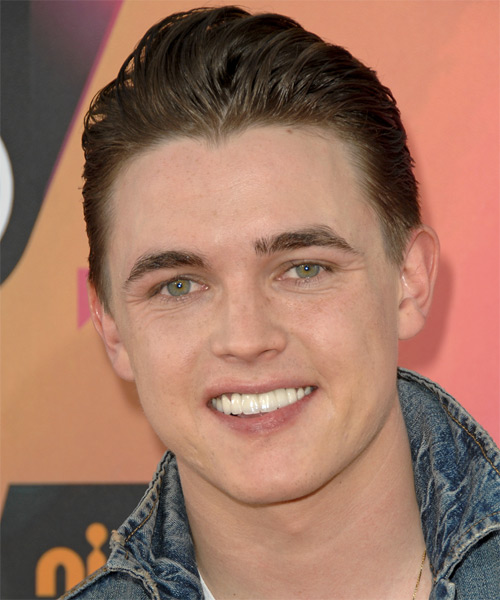 Jesse McCartney Short Straight Formal Hairstyle