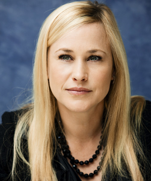 Patricia Arquette  Long Straight Hairstyle - Light Blonde