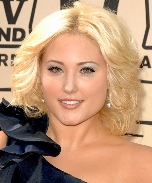 Hayley Hasselhoff - Formal Medium Wavy Hairstyle