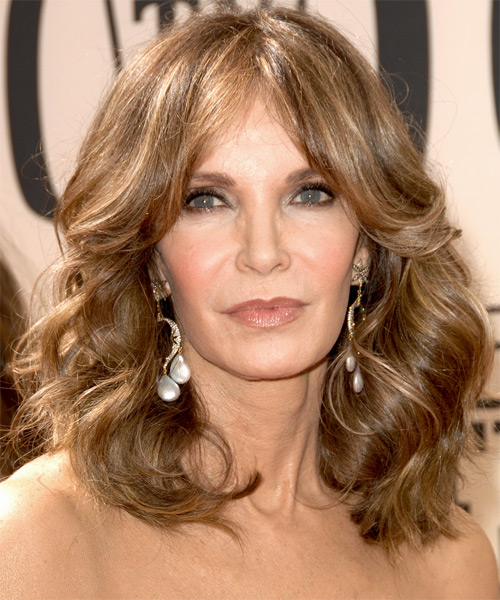 Jaclyn Smith Medium Wavy Hairstyle
