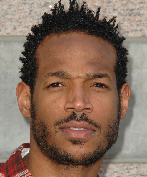 Marlon Wayans - Casual Short Curly Hairstyle