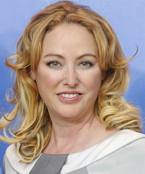 Virginia Madsen Long Wavy Hairstyle