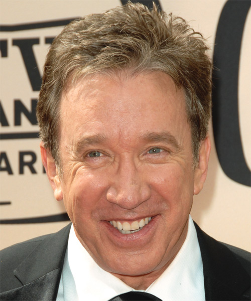 Tim Allen - Straight  Short Straight Hairstyle
