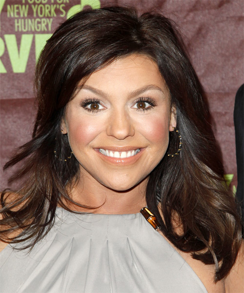 rachael ray hair cut rachael ray long straight casual hairstyle