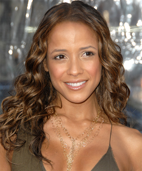 Dania Ramirez Long Curly Hairstyle
