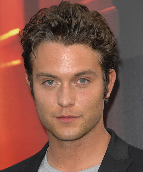 Chase Ryan Jeffery Short Wavy Casual Hairstyle