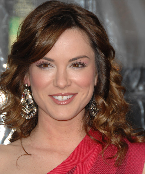 Danneel Harris Long Wavy Formal Hairstyle