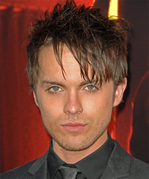 Thomas Dekker - Alternative Short Straight Hairstyle