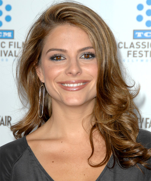 Maria Menounos Long Wavy Formal