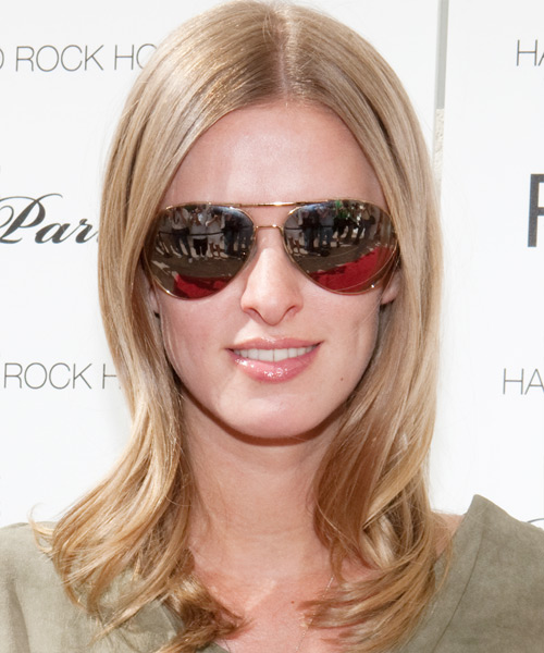 Nicky Hilton Long Straight Formal Hairstyle