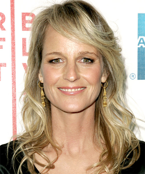 Helen Hunt - Casual Long Wavy Hairstyle