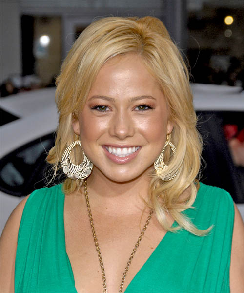 Sabrina Bryan Long Straight Hairstyle