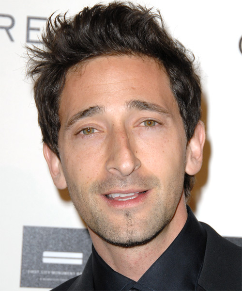 Adrien Brody - Casual Short Straight Hairstyle