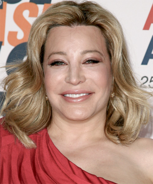 Taylor Dayne Medium Wavy Formal Hairstyle