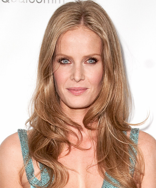 Rebecca Mader - Casual Long Straight Hairstyle