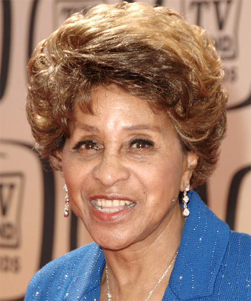 Marla Gibbs Short Wavy Formal Hairstyle
