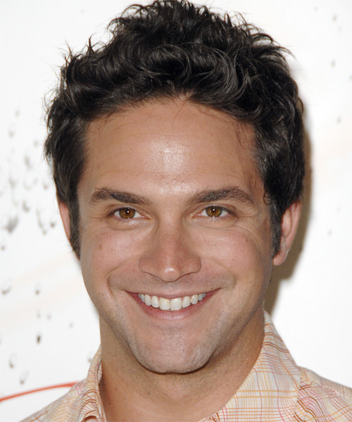 Brandon Barash Short Wavy Casual Hairstyle