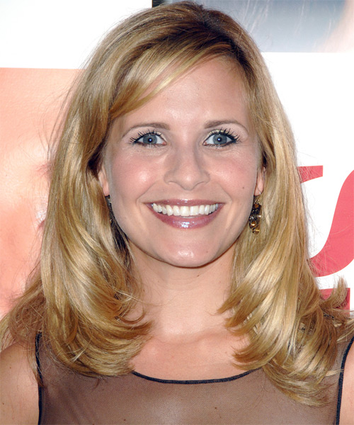 Sally Pressman - Straight  Long Straight Hairstyle