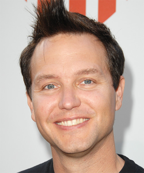 Mark Hoppus Short Straight Hairstyle