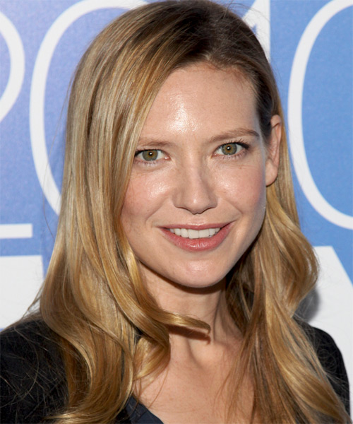 Anna Torv Long Straight Hairstyle