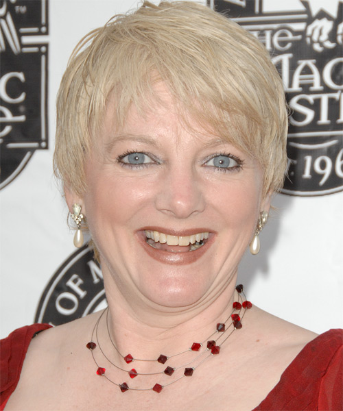 Alison Arngrim - Casual Short Straight Hairstyle
