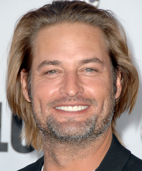 Josh Holloway Long Straight Casual Hairstyle