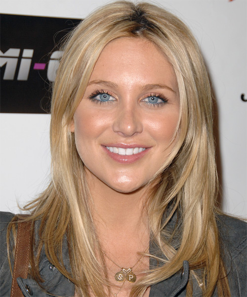 Stephanie Pratt - Casual Long Straight Hairstyle