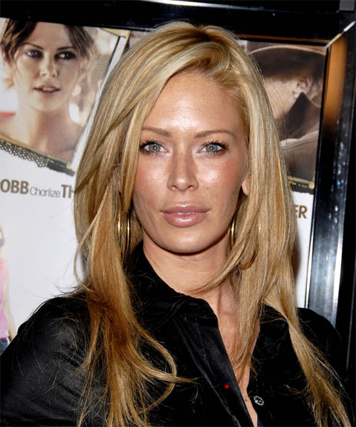 Jenna Jameson Long Straight Hairstyle