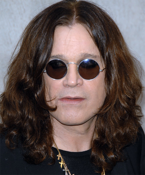 Ozzy Osbourne - Casual Long Wavy Hairstyle