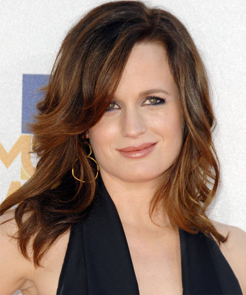 Elizabeth Reaser Medium Wavy Hairstyle