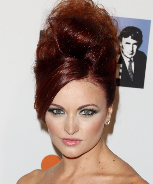 Maria Kanellis Formal Curly Updo Hairstyle