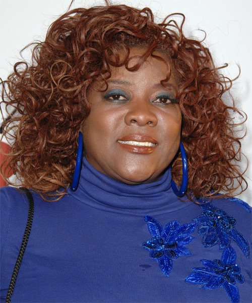 Loretta Devine Long Curly Casual Hairstyle